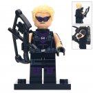 Minifigure Hawkeye Marvel Super Heroes Compatible Lego Building Block Toys