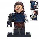 Minifigure Winter Soldier Marvel Super Heroes Compatible Lego Building Block Toys