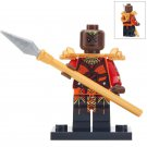 Minifigure Okoye Black Panther Marvel Super Heroes Compatible Lego Building Block Toys