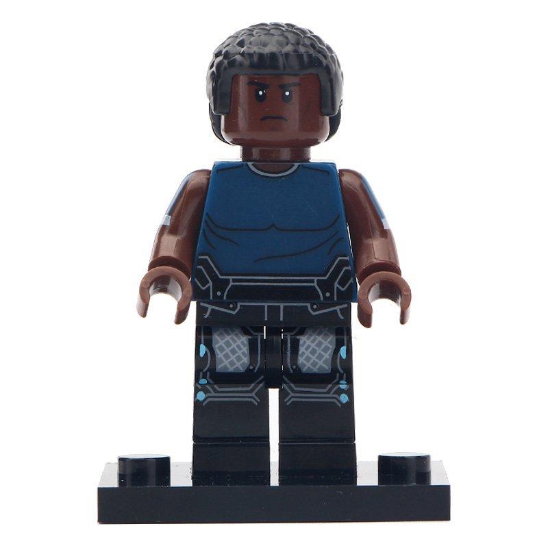 Minifigure War Machine Iron Man Marvel Super Heroes Compatible Lego Building Block Toys