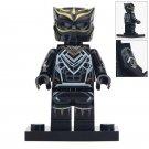 Minifigure Black Panther Marvel Super Heroes Compatible Lego Building Block Toys