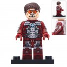 Minifigure Iron Man Tony Stark Marvel Super Heroes Compatible Lego Building Block Toys