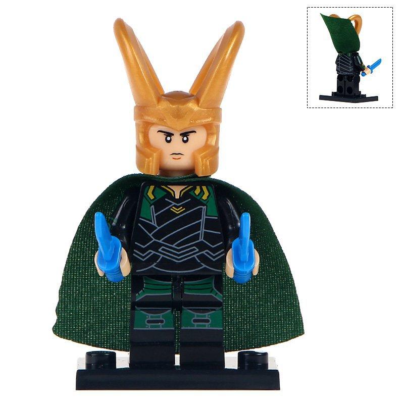Minifigure Loki Marvel Super Heroes Compatible Lego Building Block Toys
