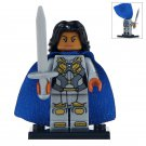 Minifigure Valkyrie Marvel Super Heroes Compatible Lego Building Block Toys