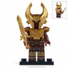 Minifigure Brown Heimdall Marvel Super Heroes Compatible Lego Building Block Toys