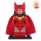 Minifigure Scarlet Witch Marvel Super Heroes Compatible Lego Building Block Toys