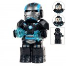 Minifigure Armored Iron Man Marvel Super Heroes Compatible Lego Building Block Toys