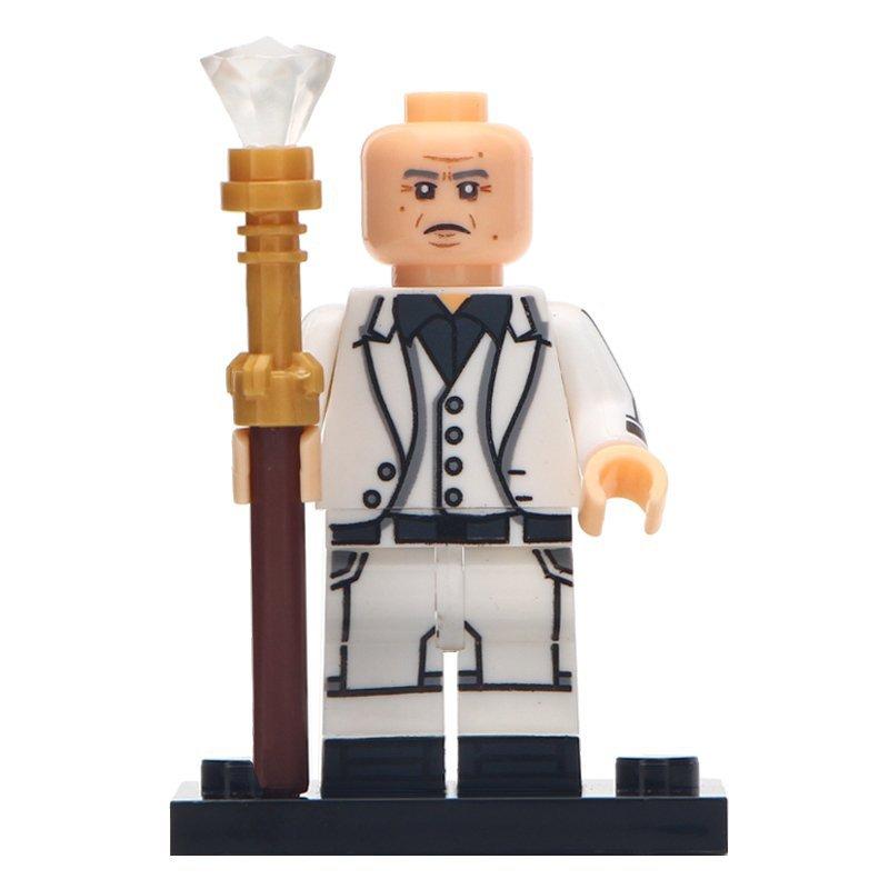 Minifigure Kingpin Wilson Fisk Marvel Super Heroes Compatible Lego Building Block Toys