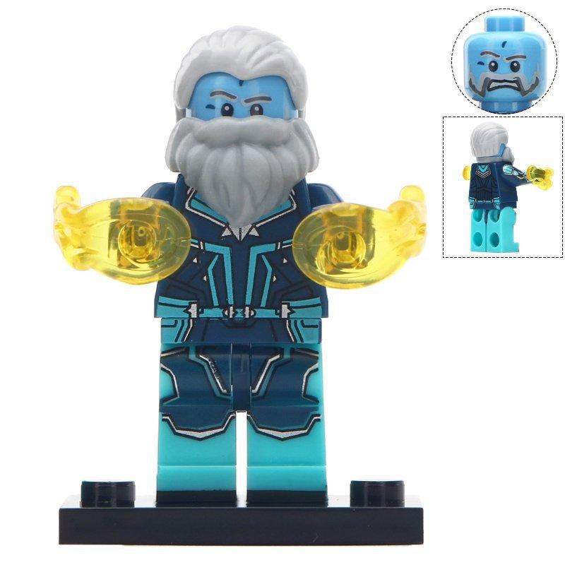 Minifigure Bron-Char Marvel Super Heroes Compatible Lego Building Block Toys