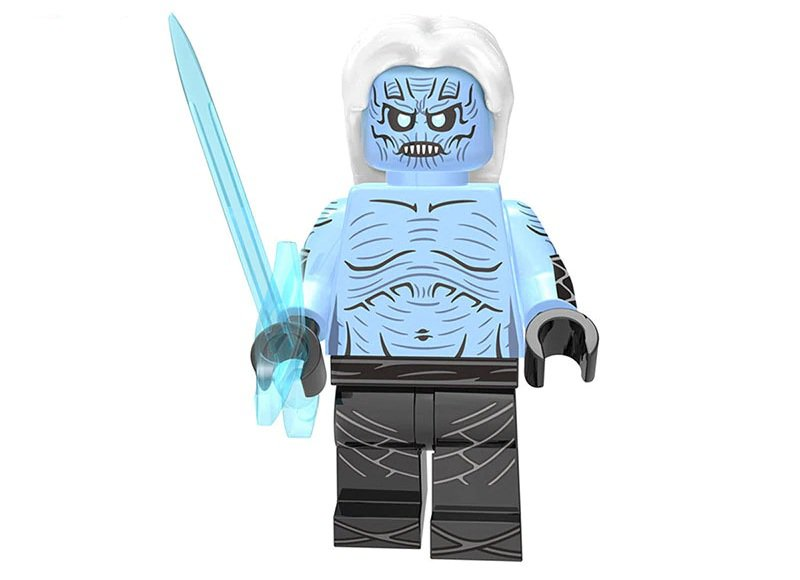 Minifigure White Walkers Game of Thrones Compatible Lego Building Blocks Toys