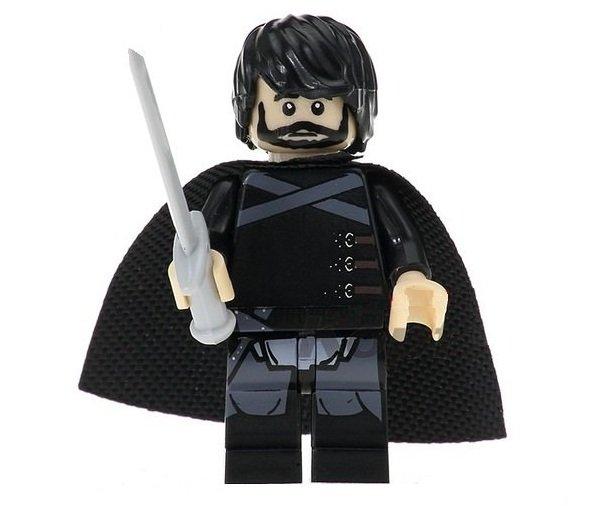 Minifigure Jon Snow Game of Thrones Compatible Lego Building Blocks Toys