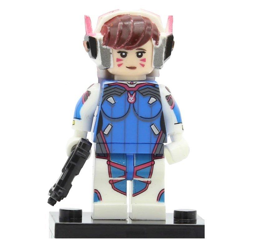 Minifigure D.Va Overwatch Compatible Lego Building Blocks Toys