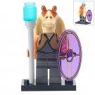 Minifigure Jar Jar Binks Star Wars Compatible Lego Building Block Toys