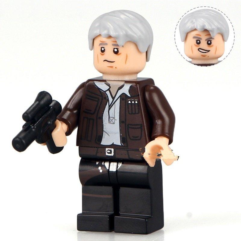 Minifigure Han Solo Star Wars Compatible Lego Building Block Toys