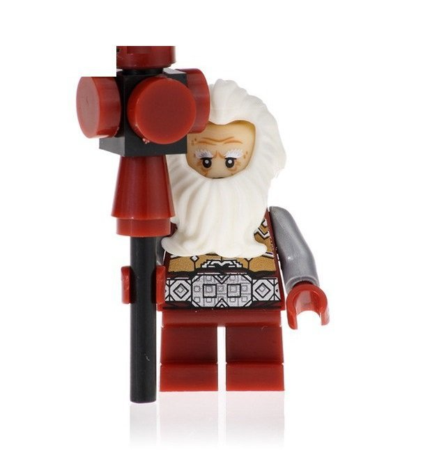 Minifigure Balin Dwarf Lord Of The Rings Hobbit Compatible Lego Building Blocks Toys