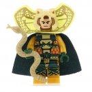 Minifigure Serpentor G.I. Joe Compatible Lego Building Blocks Toys