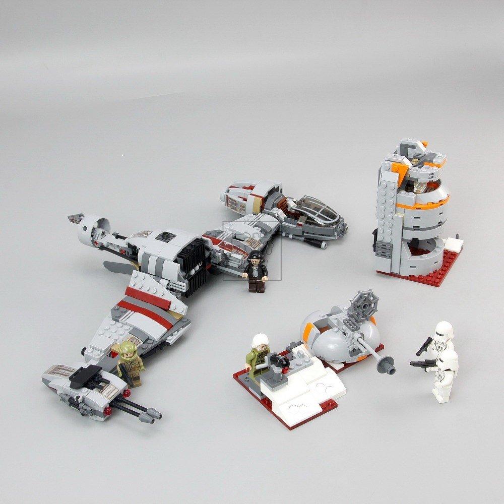 05141 Lepin Defense of Crait Star Wars 836pcs 75202 Lego compatible Building Blocks
