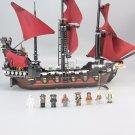 16009 Queen Anne's Revenge Pirates of the Caribbean 1151pcs 4195 Lego Compatible Building Blocks