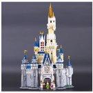 16008 Cinderella Princess Castle Disney Series 4080pcs 71040 Lego Compatible Building Blocks