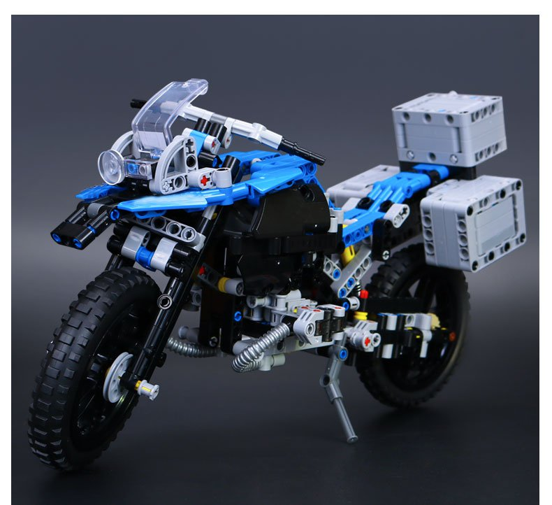 20032 Lepin BMW Motorcycle R 1200 GS Technic Series 603pcs 42063 Lego compatible Building Blocks