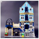 15007 European Market Creator Series 1275pcs 10190 Lego Compatible Building Blocks