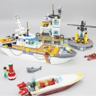 02081 Coast Guard Head Quarters City Series 855pcs 60167 Lego Compatible Building Blocks