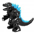 Minifigure Big Black Godzilla King of the Monsters Movie Compatible Lego Building Block Toys