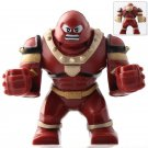 Minifigure Big Juggernaut from X-Men Marvel Super Heroes Compatible Lego Building Block Toys