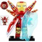 Minifigure Iron Man Mark 85 Avengers Endgame Marvel Super Heroes Compatible Lego Building Block Toys