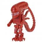 Minifigure Red Alien Xenomorph Horror Movie Compatible Lego Building Blocks Toys
