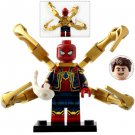 Minifigure Spider-man with Armor Avengers Endgame Marvel Super Heroes Compatible Lego Building Block