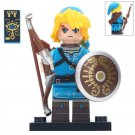 Minifigure Archer Link Zelda Breath of The Wild Nintendo Game Compatible Lego Building Blocks Toys