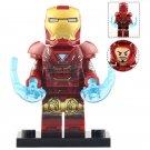 Minifigure Iron Man Mark 7 Suit Avengers Endgame Marvel Super Heroes Compatible Lego Building Blocks