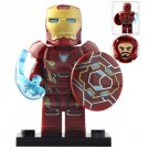 Minifigure Iron Man Mark 50 with Shield Avengers Endgame Marvel Super Heroes Compatible Lego