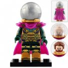 Minifigure Mysterio Spider-man Far From Home Marvel Super Heroes Compatible Lego Building Block Toys