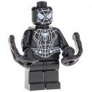 Minifigure Spider-Man Black Color Marvel Super Heroes Compatible Lego Building Block Toys