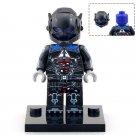 Minifigure Arkham Knight Batman DC Comics Super Heroes Compatible Lego Building Block Toys