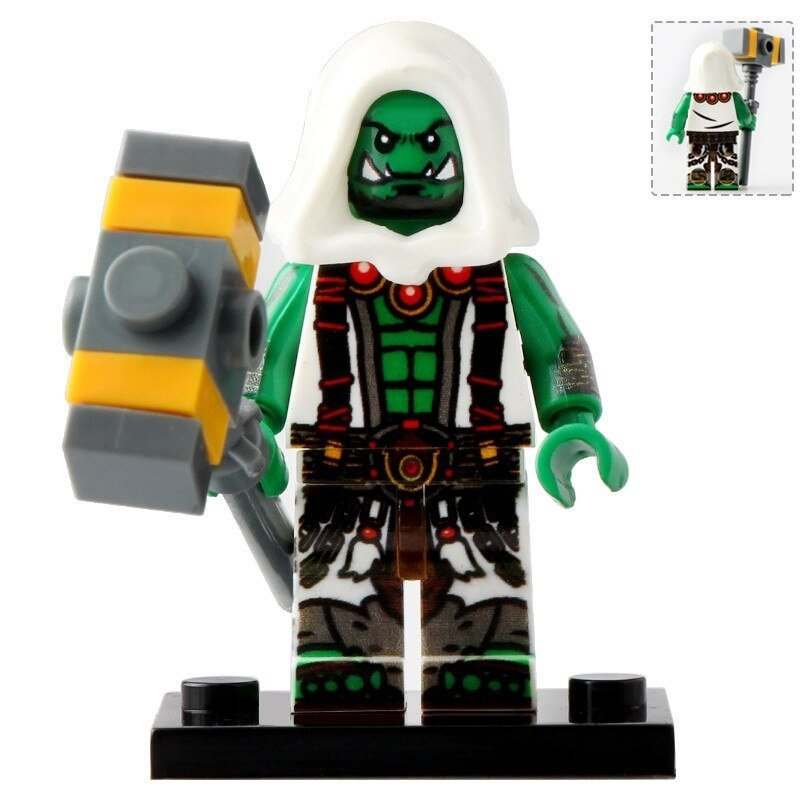Minifigure Thrall Warcraft Series Game Compatible Lego Building Block Toys