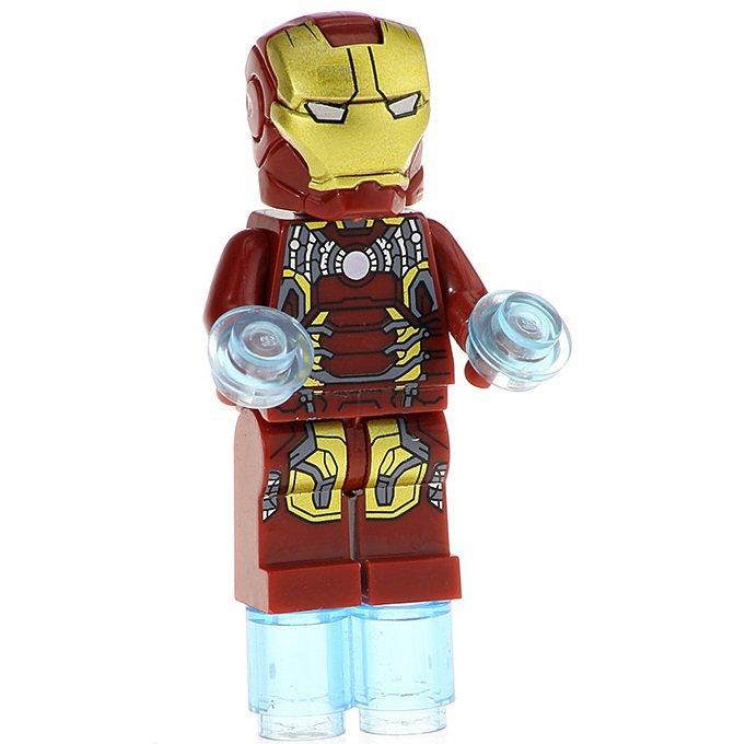 Minifigure Iron Man Avengers Endgame Marvel Super Heroes Compatible Lego