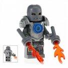 Minifigure Iron Man Mark 1 Suit Marvel Super Heroes Compatible Lego Building Blocks Toys