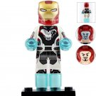 Minifigure Iron Man Tony Stark Quantum Suit Avengers Marvel Super Heroes Compatible Lego