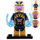 Minifigure Thanos Iron Man Style Marvel Super Heroes Compatible Lego Building Blocks Toys