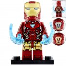 Minifigure Iron Man Tony Stark Mark 85 Avengers Marvel Super Heroes Compatible Lego