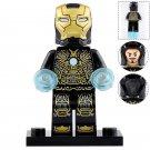 Minifigure Iron Man Black Suit Mark 41 Marvel Super Heroes Compatible Lego Building Blocks Toys