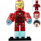 Minifigure Iron Man Mark 50 Marvel Super Heroes Compatible Lego Building Blocks Toys