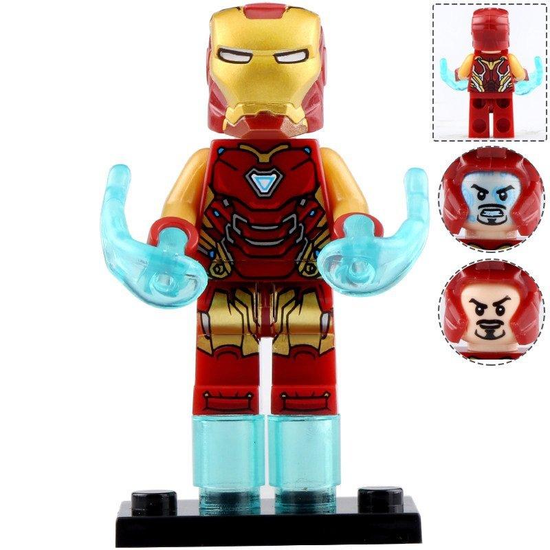 Minifigure Iron Man Mark 85 Marvel Super Heroes Compatible Lego Building Blocks Toys