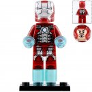 Minifigure Iron Man Mark 5 Marvel Super Heroes Compatible Lego