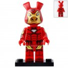 Minifigure Spider-Ham Iron Man Style Peter Porker Spider-Man Marvel Super Heroes Compatible Lego