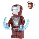 Minifigure Iron Man Mark 5 Marvel Super Heroes Compatible Lego Building Blocks Toys