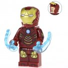 Minifigure Iron Man Mark 4 Marvel Super Heroes Compatible Lego Building Blocks Toys